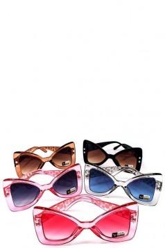 Designer Pearl Butterfly Sunglasses