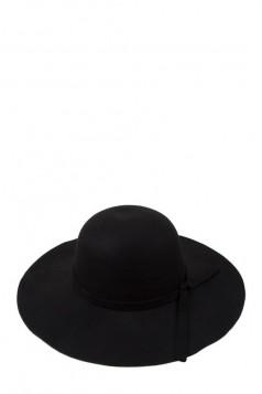 Wide Brim Felt Bowler Fedora Floppy Hat