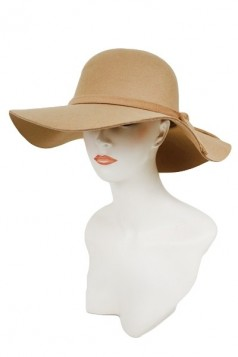 BRUSHED WIDE BRIM HAT MORE COLORS!!