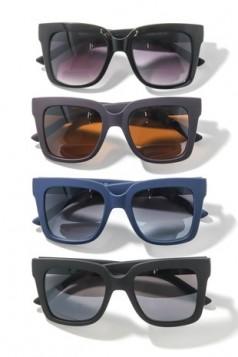 Waffle Frame Sunglasses