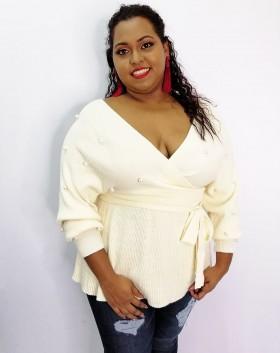 Cozy Crush Pearl Sweater Top +