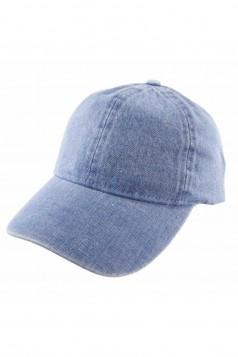 Plain Denim Ball Cap