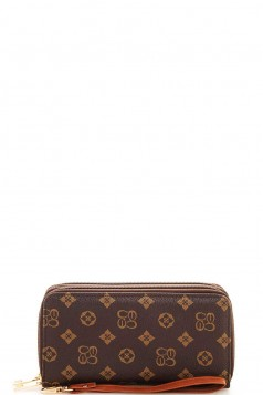 Alba Thick Wallet with Wristlet