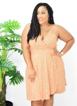 LAZY DAY PLUS SIZE ROMPER