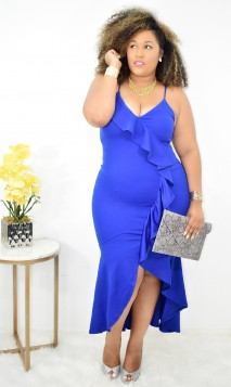 Invite Only Ruffle Hi Lo Dress + More Colors
