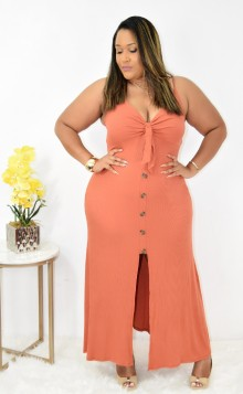 KAILYN OPEN FRONT MAXI DRESS +