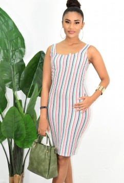 CASUAL STRIPED DRESS MORE COLORS!!!