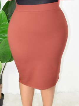PLUS SIZE PENCIL SKIRT MORE COLORS!!