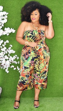 TROPICAL BARBIE JUMPSUIT