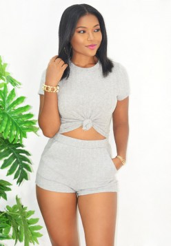 STAY AT HOME RIBBED 2 PIECE SET