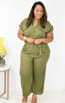 NIGHT OUT BUTTON JUMPSUIT +