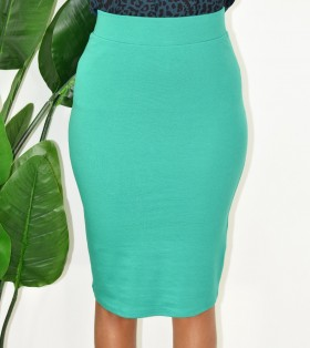 STRETCHY PENCIL SKIRT MORE COLORS