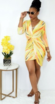 FEELING PRETTY ABSTRACT KNOT DRESS