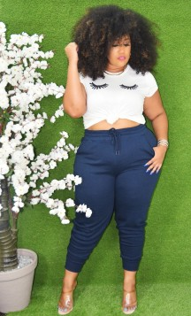 COUCH POTATO PLUS SIZE JOGGERS