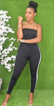 SPORTY SPICE TUBE JUMPSUIT