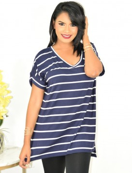 STRIPED OVERSIZED TEE MORE COLORS