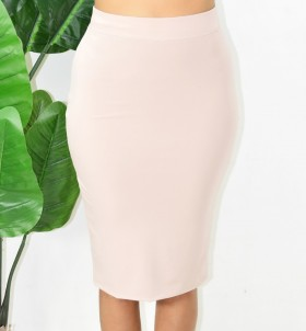 SILKY PENCIL SKIRT MORE COLORS!
