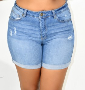 HIGH RISE DENIM SHORTS MORE COLORS!