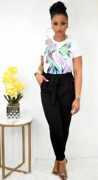 MUST HAVE PAPERBAG WAIST PANTS