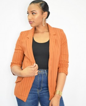 Line Them Up Stripe Blazer