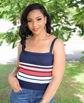 Missy Sweater Stripe Top