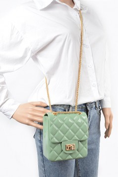 Quilted Embossed Jelly Clutch