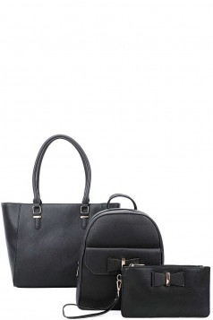 3IN1 SATCHEL BACKPACK AND CLUTCH SET