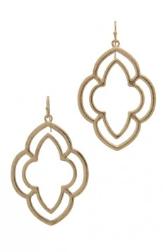 DESIGNER CHIC DROP FASHION EARRING